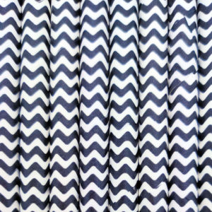Paper straws – Black with white waves - decomazing.com