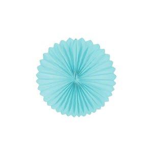 Papierfächer - Hellblau - decomazing.com