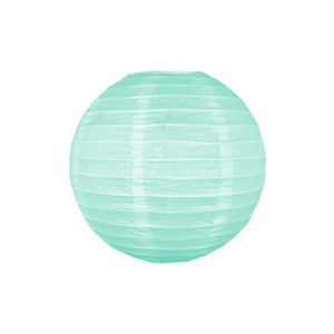 Papierlaterne - Türkis - decomazing.com