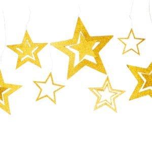 Anhänger Sterne - Gold - decomazing.com